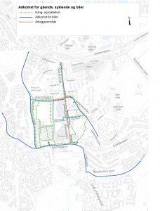 Kart over Skårersletta