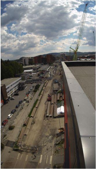 Bilde fra Skårersletta 4. juni 2021